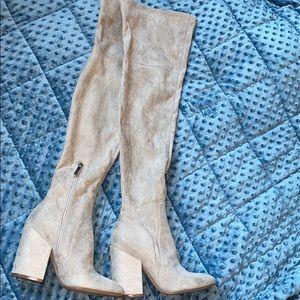 Thigh high boots- BRAND NEW